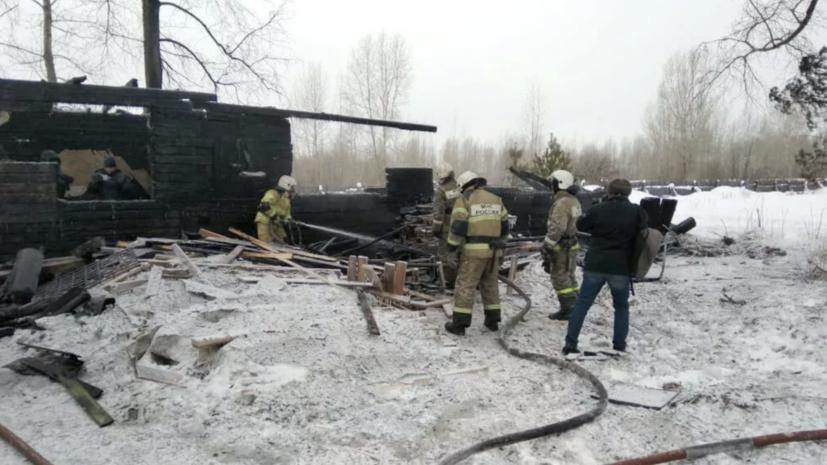 Тела жертв крупного пожара доставлены в Томск для ДНК-экспертизы