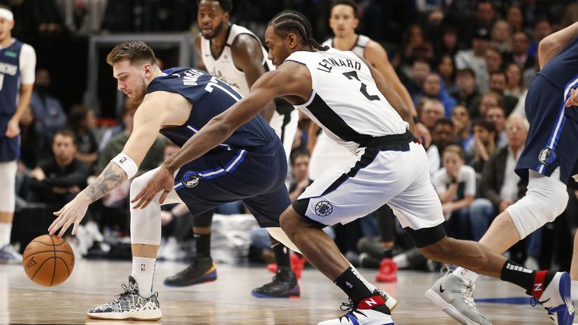 «Клипперс» обыграл «Даллас» в матче НБА, Леонард набрал 36 очков
