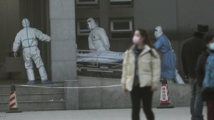 В Китае подтвердили случаи заражения медиков новым типом коронавируса