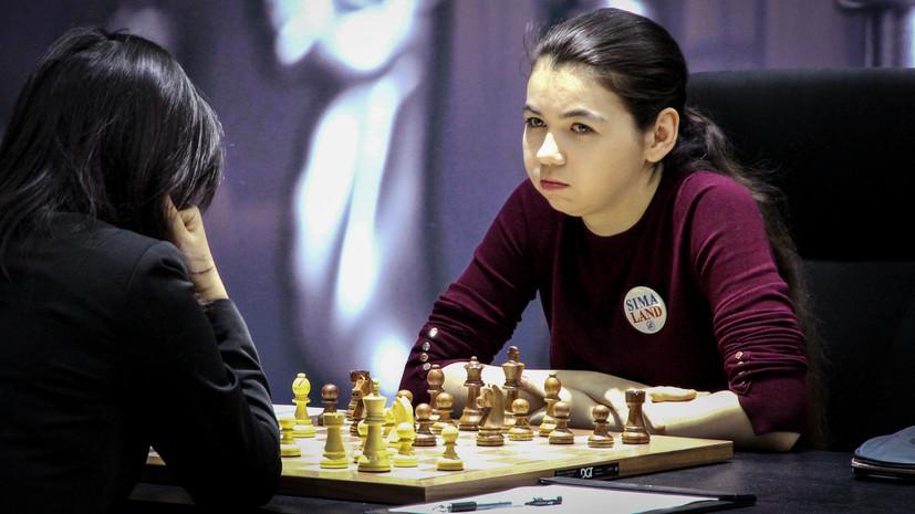 Горячкина и Вэньцзюнь сыграли вничью в 11-й партии матча за шахматную корону