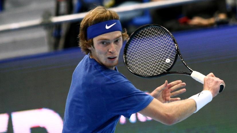 Рублёв и Василевский проиграли в первом круге Australian Open в парном разряде