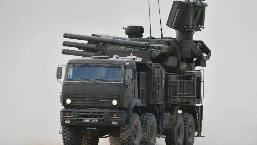 Расчёты ЗРПК «Панцирь-С1» Черноморского флота провели учения по уничтожению воздушных целей