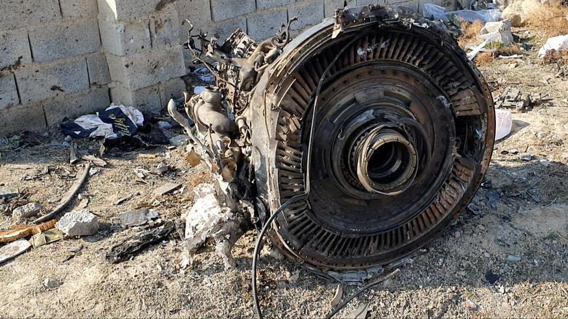 Чёрные ящики разбившегося под Тегераном самолёта расшифруют в Иране