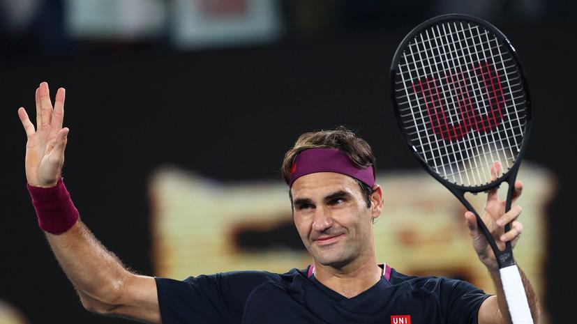 Федерер победил Краиновича и вышел в третий круг Australian Open