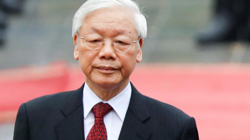 Президент Вьетнама приедет в Москву на празднование 75-летия Победы