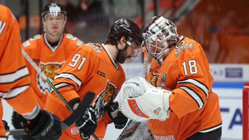 «Амур» проиграл девятый матч КХЛ подряд, уступив «Куньлуню»