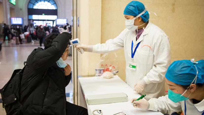ВУхани обязали носить маски из-за распространения коронавируса