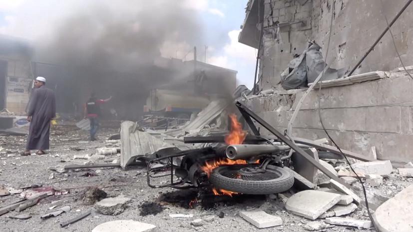 Боевики трижды атаковали правительственные войска в Идлибе