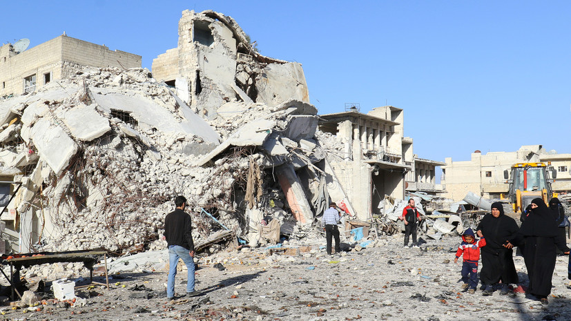 В ООН озабочены угрозой безопасности для мирных жителей в Идлибе