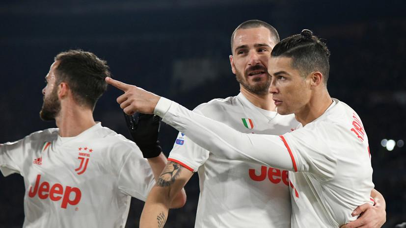 Автогол Буффона не помешал «Ювентусу» пройти «Рому» в 1/4 финала Кубка Италии