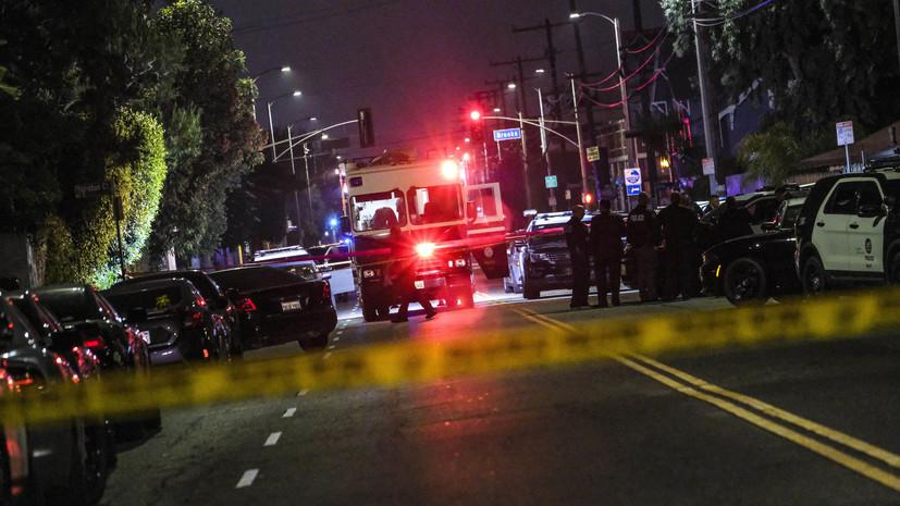 В Калифорнии потерпел крушение небольшой самолёт