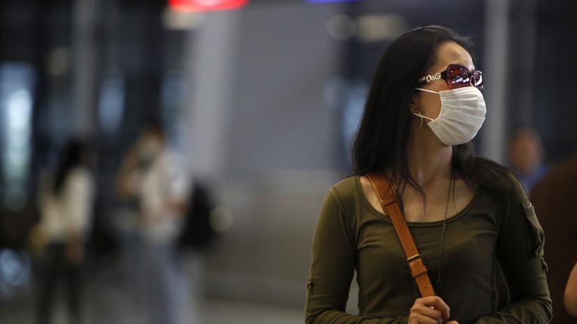 Число заболевших новым коронавирусом в Китае превысило 570