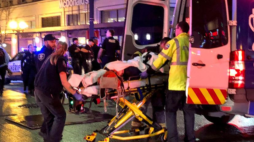 В Сиэтле при стрельбе один человек погиб и пятеро пострадали