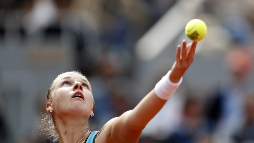 Блинкова проиграла Дияс во втором круге Australian Open