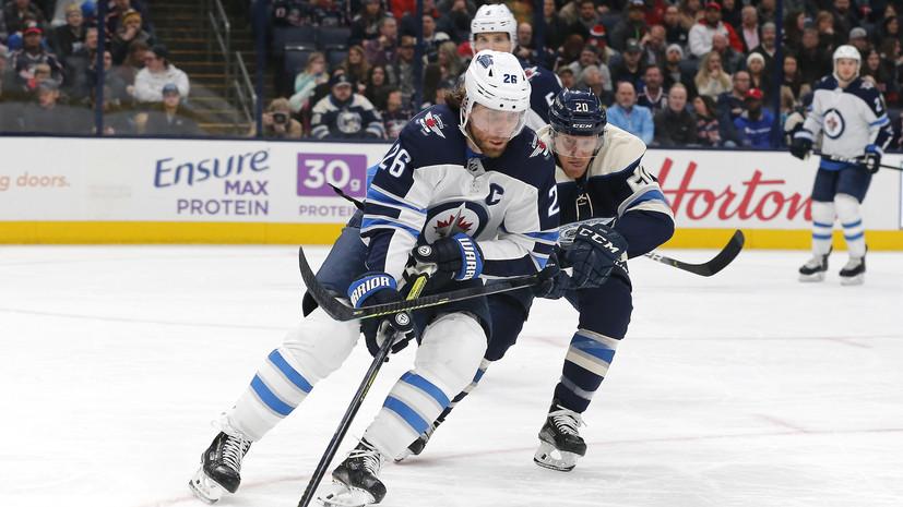 «Коламбус» победил «Виннипег» в матче НХЛ