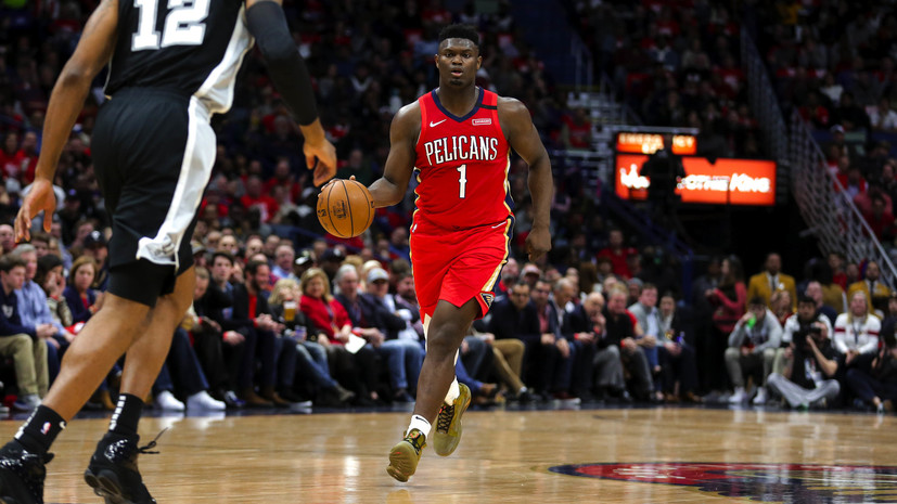Первый номер драфта-2019 установил рекорд в дебютном матче НБА