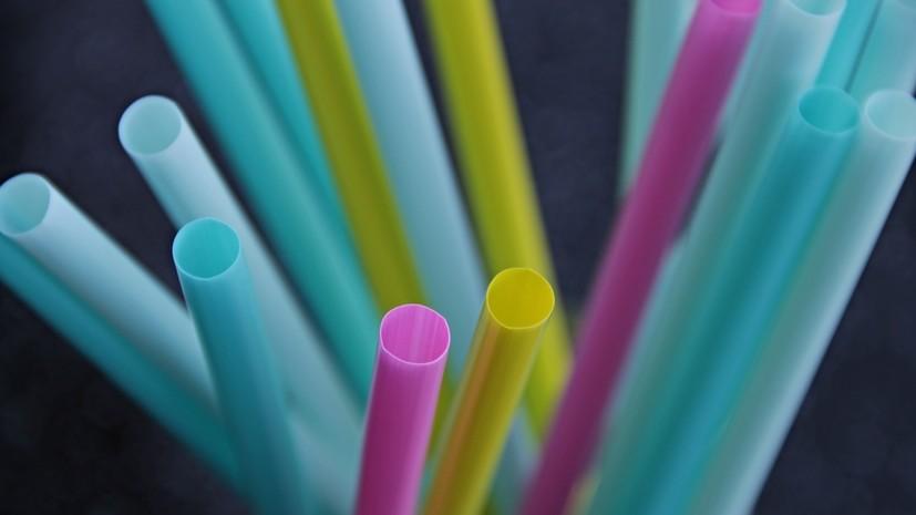 Ретейлеры заявили о снижении продаж пластиковых соломинок для напитков в России