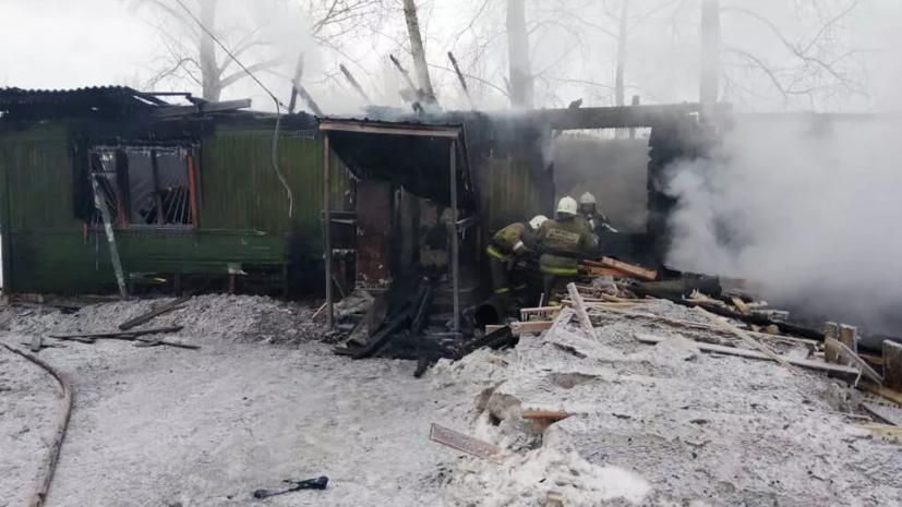 В Томской области ведут поиски человека, пропавшего после крупного пожара