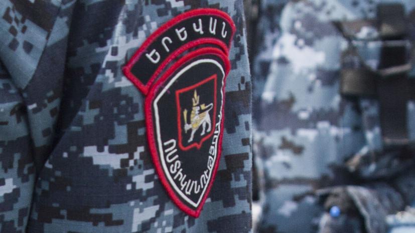В центре Еревана произошла стрельба