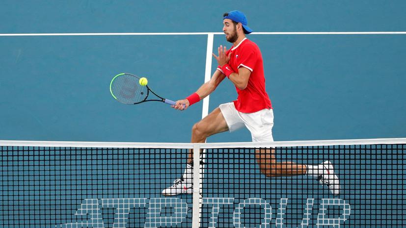 Хачанов на тай-брейке победил Имера и вышел в третий круг Australian Open