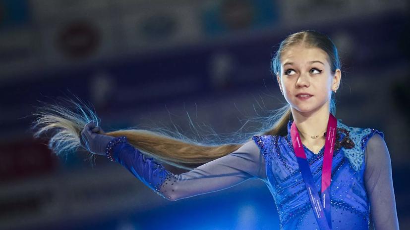 Трусова чисто откатала произвольную программу на тренировке, Щербакова и Косторная упали по два раза
