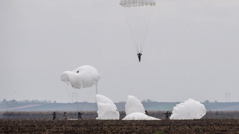 Российские десантники выполнили почти 180 тысяч прыжков с парашютом в 2019 году