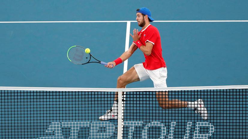 Кирьос поделился ожиданиями от матча с Хачановым на Australian Open