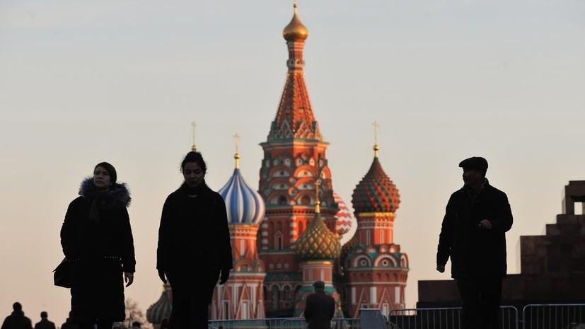 В Москве средняя температура января превышает норму на10 °С