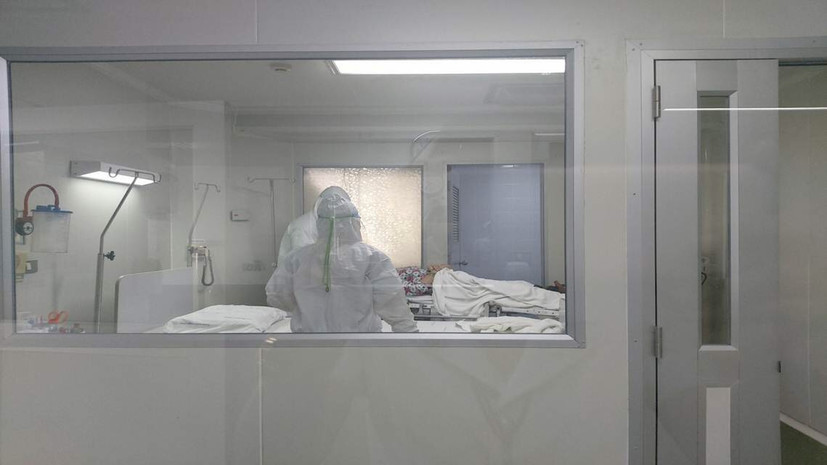 Опубликовано первое изображение нового коронавируса