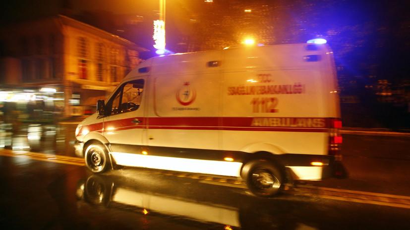 При землетрясении в Турции пострадали два человека