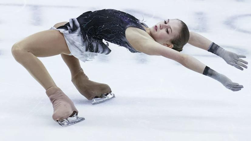 Глейхенгауз сообщил, что Трусова заявила три четверных прыжка в произвольной программе