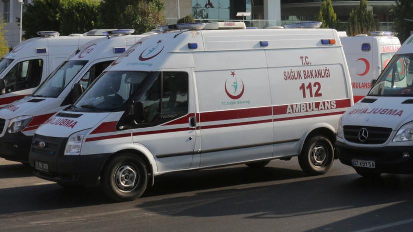 В Турции сообщилио четырёх погибших при землетрясении