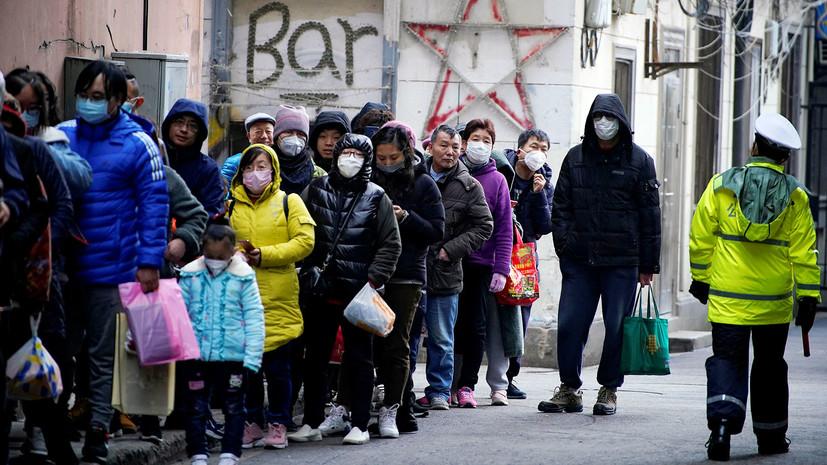 Власти Китая направили в Ухань более 1200 врачей из-за коронавируса