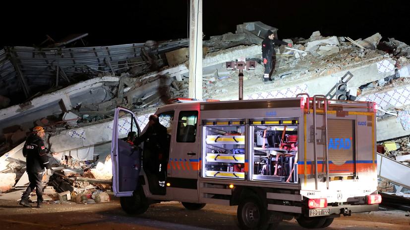 Число погибших при землетрясении в Турции возросло до 22
