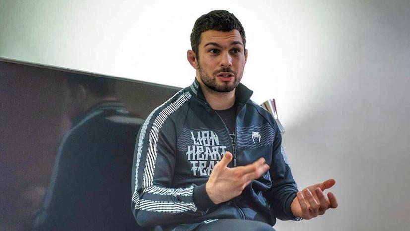 Российский боец Вартанян проведёт поединок с американцем Грином на турнире ACA 107