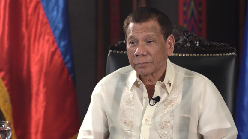 «Россия уважает суверенитет нашей страны»: президент Филиппин Дутерте об отношениях с Москвой, Пекином и Вашингтоном