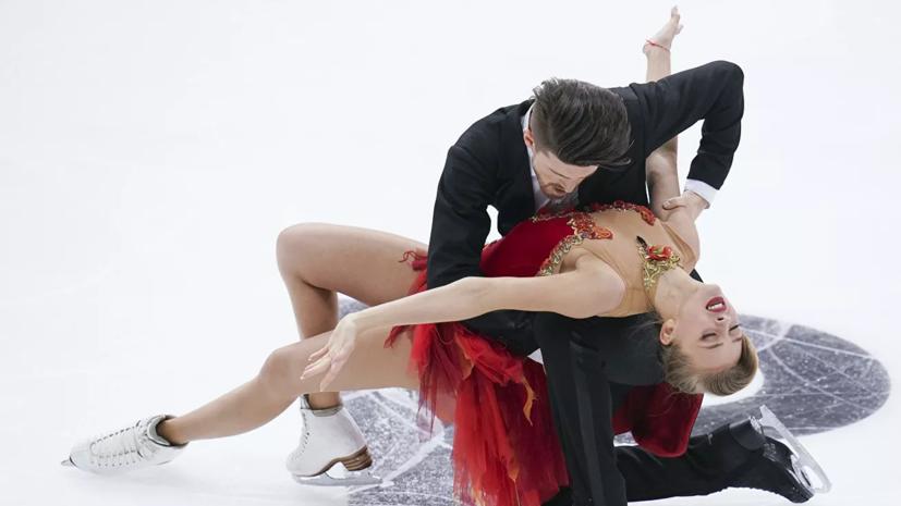 Степанова и Букин установили два личных рекорда по итогам произвольного танца на ЧЕ в Граце
