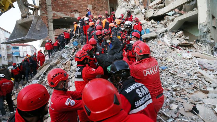 Число погибших при землетрясении в Турции возросло до 29