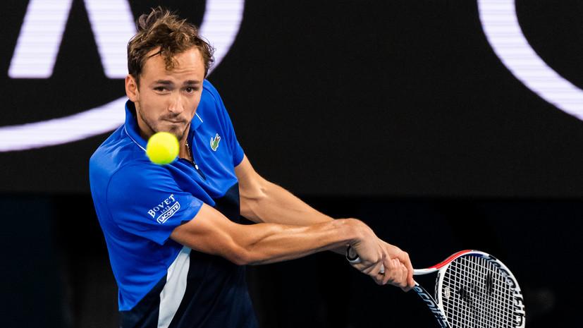 Медведев рассказал, как следил за игрой Хачанова во время своего матча на Australian Open