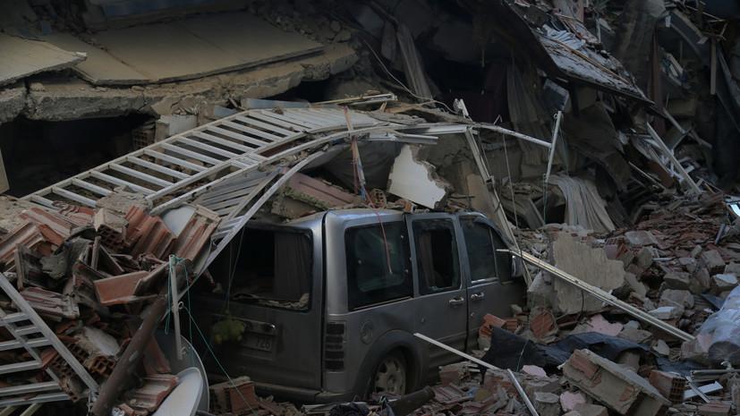 МИД Армении выразил соболезнования семьям жертв землетрясения в Турции