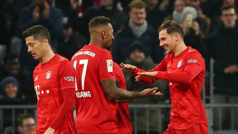 «Бавария» разгромила «Шальке» в 19-м туре Бундеслиги
