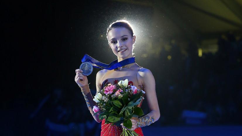 Тарасова о серебре Щербаковой: она держит себя в невероятном напряжении