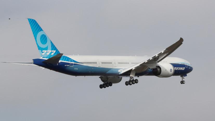 Boeing 777X совершил первый испытательный полёт