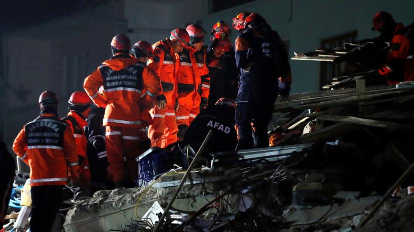 Число жертв землетрясения в Турции возросло до 31