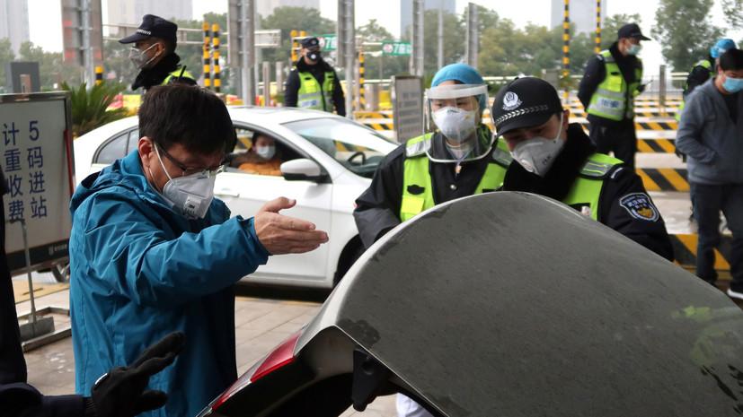 Число заразившихся новым коронавирусом в КНР достигло 1975 человек