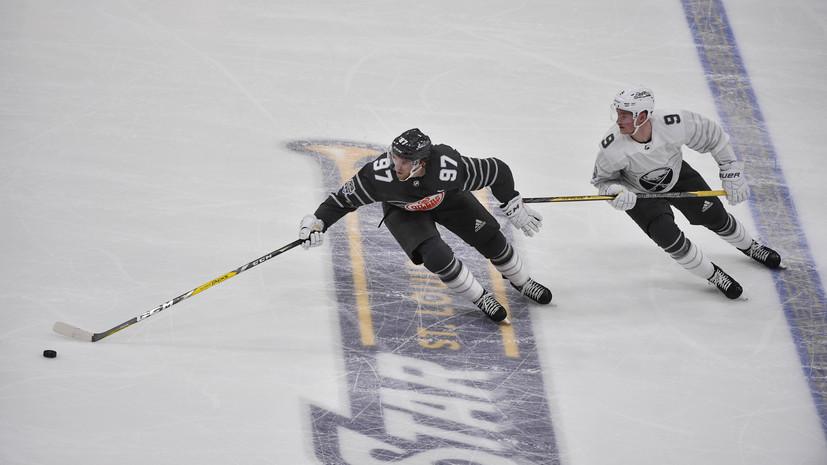 Команда Тихоокеанского дивизиона стала победителем Матча звёзд НХЛ