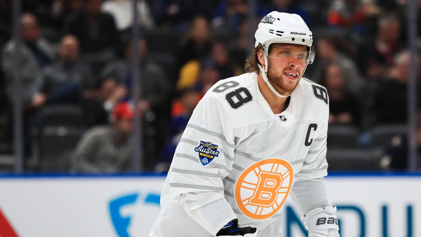 Хоккеист «Бостона» Пастрняк признан MVP Матча звёзд НХЛ