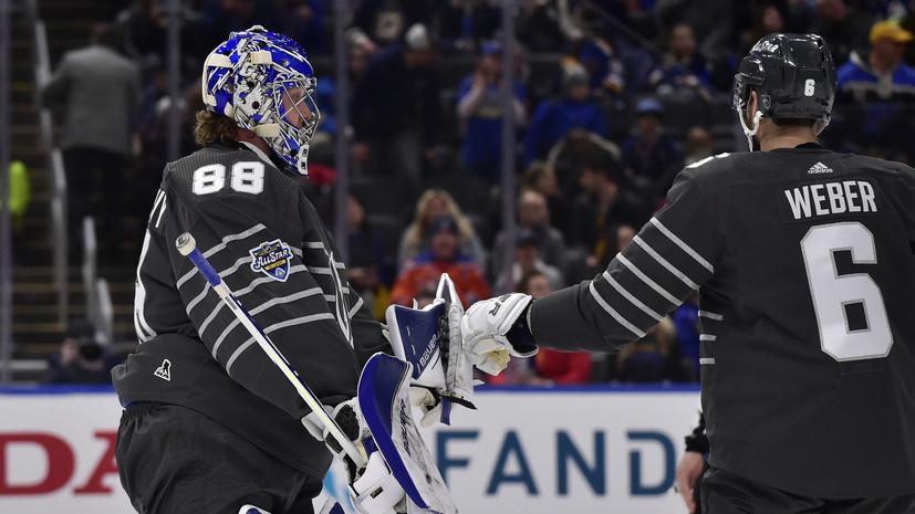 Василевский: я отлично провёл время на Матче звёзд НХЛ, и это главное