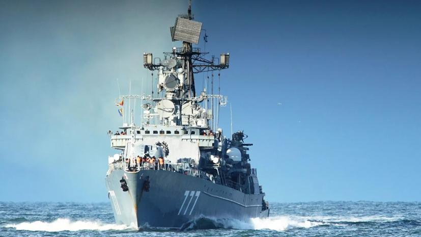 Корабль Балтийского флота «Ярослав Мудрый» остановился в Омане