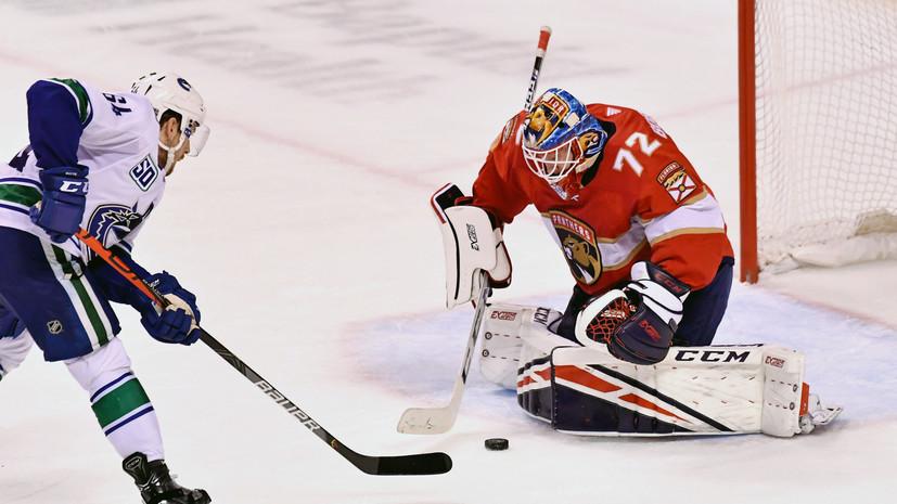 Бобровский заявил, что очень недоволен своей игрой в нынешнем сезоне НХЛ